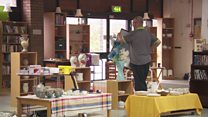 Biggest charity shop opens doors