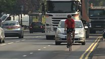 Undercover police bikes target drivers