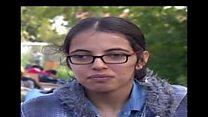 সিরিয়ার একজন শরণার্থী 'এখন আর ভয় পায় না'