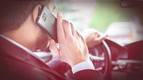 Fines to double for drivers on mobiles