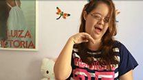 'Meus seguidores me defendem': A primeira youtuber brasileira com síndrome de Down
