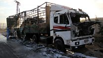 'People were well aware' of attacked aid convoy