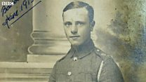 The WW1 soldier saved by a prayer book