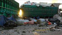 சிரியாவில் போர் நிறுத்தம் முறிந்தது-ஐ நா வாகனங்கள் மீது தாக்குதல்