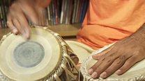 अफ्रीकी मूल के तबला वादक
