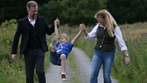 Brain family 'over the moon' to stay in UK