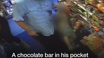 Sweet-toothed shoplifter returns to pay after CCTV shared online