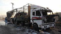 Причастна ли Россия к расстрелу конвоя в Сирии?