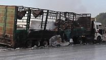 Syria aid convoy attack: What happened?