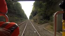 What's it like inside the four-mile-long Severn Tunnel?