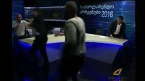 Gürcüstanlı siyasətçilərin canlı efirdə əlbəyaxası