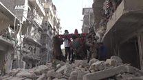 ТВ-новости: возобновление военных действий в Сирии