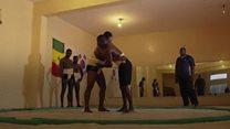 Como o Senegal espera formar a próxima estrela do sumô
