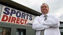 Sports Direct: Ashley as chief executive is 'bizarre'