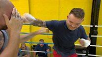 Bare knuckle boxer on 'hardcore' sport