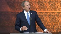 Bush: 'This museum tells the truth'