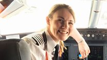 Kate is an airline captain...