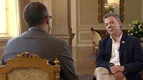 Entrevista completa al presidente de Colombia Juan Manuel Santos