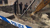 Excavation work starts in Needham search