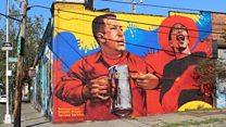 El nuevo mural de Hugo Chávez que divide opiniones en el Bronx de Nueva York