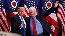 Newt Gingrich: Trump 'won by act of standing there'