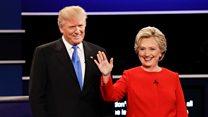 El primera debate entre Hillary y Trump en 60 segundos