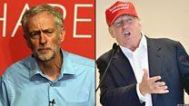 Jeremy Corbyn:  Don't compare me to Trump