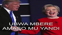 Warakurikiye ikiganiro ca D. Trump na H. Clinton?