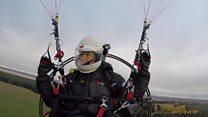 پرواز یک فعال محیط زیست در مسیر قوهای توندرا، از شمال روسیه تا بریتانیا