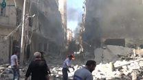 واکنش روسیه به آمریکا: حلب را همچنان بمباران میکنیم