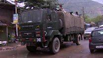 حمله ارتش هند به اهدافی در طرف پاکستانی کشمیر