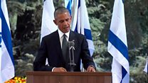 Obama: Abbas 'a reminder of unfinished peace'
