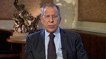 Sergei Lavrov: BBC interview in full