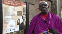 Explorer inspires Maasai and Thornhill