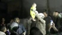 Month-old baby pulled from Idlib rubble