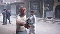 ادامه نبرد حلب با حمایت هوایی روسیه