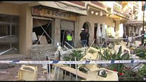 Many injured in cafe in Malaga gas blast