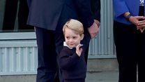 Семейство принца Уильяма покидает Канаду