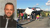 Tributes to Ranger's coach crash victim