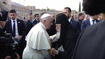 شکست رهبر کاتولیک های جهان در سفرهای قفقاز