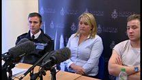 Mother's plea to find RAF serviceman son