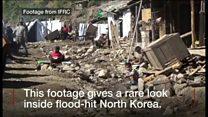 北朝鮮の洪水被害 窮状続く現地を国際赤十字が撮影