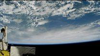 Hurricane Matthew from space