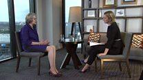 In full: Kuenssberg interviews Theresa May