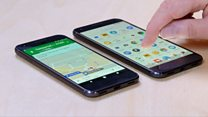 Google unveils 'chatty' smartphones