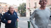 BBC 'joins' Boris Johnson's morning jog