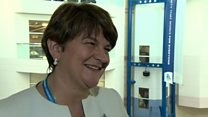DUP leader hails 'champagne success'