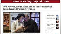 شکایت خبرنگار روزنامه واشنگتن پست از دولت ایران