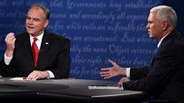 Trump taxes spark debate row