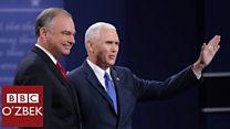 АҚШ сайловлари: Вице-президентликка номзодлар дебати